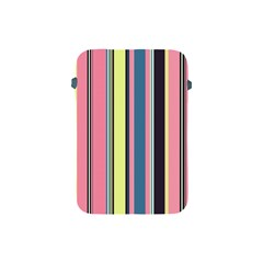 Seamless Colorful Stripes Pattern Background Wallpaper Apple iPad Mini Protective Soft Cases