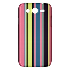 Seamless Colorful Stripes Pattern Background Wallpaper Samsung Galaxy Mega 5.8 I9152 Hardshell Case