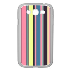Seamless Colorful Stripes Pattern Background Wallpaper Samsung Galaxy Grand DUOS I9082 Case (White)