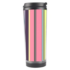 Seamless Colorful Stripes Pattern Background Wallpaper Travel Tumbler