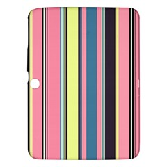 Seamless Colorful Stripes Pattern Background Wallpaper Samsung Galaxy Tab 3 (10 1 ) P5200 Hardshell Case