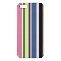 Seamless Colorful Stripes Pattern Background Wallpaper Iphone 5s/ Se Premium Hardshell Case