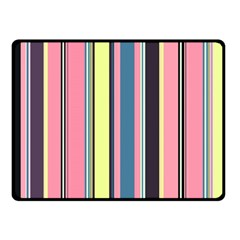Seamless Colorful Stripes Pattern Background Wallpaper Double Sided Fleece Blanket (small)