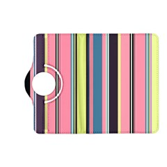 Seamless Colorful Stripes Pattern Background Wallpaper Kindle Fire HD (2013) Flip 360 Case
