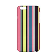 Seamless Colorful Stripes Pattern Background Wallpaper Apple iPhone 6/6S Hardshell Case