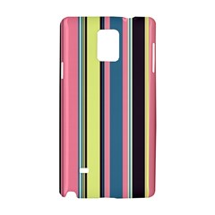 Seamless Colorful Stripes Pattern Background Wallpaper Samsung Galaxy Note 4 Hardshell Case