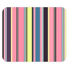 Seamless Colorful Stripes Pattern Background Wallpaper Double Sided Flano Blanket (Small)