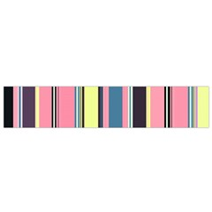 Seamless Colorful Stripes Pattern Background Wallpaper Flano Scarf (small)