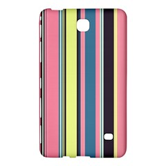 Seamless Colorful Stripes Pattern Background Wallpaper Samsung Galaxy Tab 4 (8 ) Hardshell Case