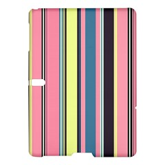 Seamless Colorful Stripes Pattern Background Wallpaper Samsung Galaxy Tab S (10.5 ) Hardshell Case