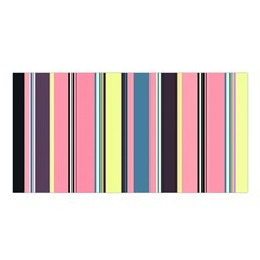 Seamless Colorful Stripes Pattern Background Wallpaper Satin Shawl