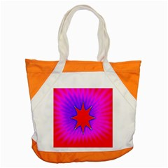 Pink Digital Computer Graphic Accent Tote Bag