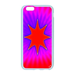 Pink Digital Computer Graphic Apple Seamless iPhone 6/6S Case (Color)