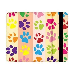 Colorful Animal Paw Prints Background Samsung Galaxy Tab Pro 8.4  Flip Case