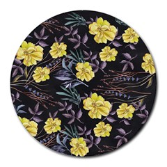 Wildflowers Ii Round Mousepads