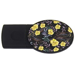Wildflowers Ii Usb Flash Drive Oval (4 Gb)