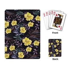 Wildflowers Ii Playing Card