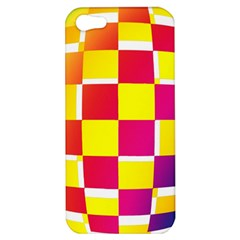 Squares Colored Background Apple iPhone 5 Hardshell Case