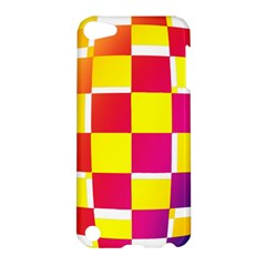 Squares Colored Background Apple Ipod Touch 5 Hardshell Case