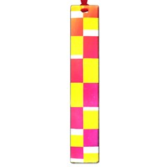 Squares Colored Background Large Book Marks