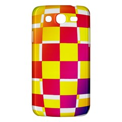 Squares Colored Background Samsung Galaxy Mega 5 8 I9152 Hardshell Case