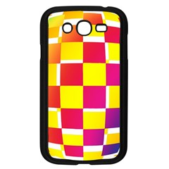 Squares Colored Background Samsung Galaxy Grand Duos I9082 Case (black)