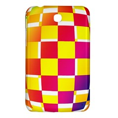 Squares Colored Background Samsung Galaxy Tab 3 (7 ) P3200 Hardshell Case