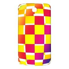 Squares Colored Background Samsung Galaxy Mega I9200 Hardshell Back Case