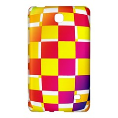 Squares Colored Background Samsung Galaxy Tab 4 (8 ) Hardshell Case
