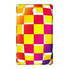Squares Colored Background Samsung Galaxy Tab S (8.4 ) Hardshell Case