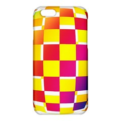 Squares Colored Background iPhone 6/6S TPU Case
