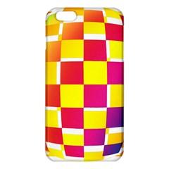 Squares Colored Background iPhone 6 Plus/6S Plus TPU Case
