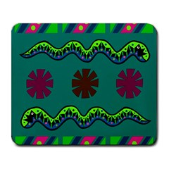 A Colorful Modern Illustration Large Mousepads