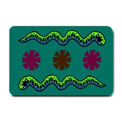 A Colorful Modern Illustration Small Doormat