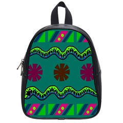 A Colorful Modern Illustration School Bags (small)