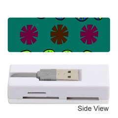 A Colorful Modern Illustration Memory Card Reader (stick)