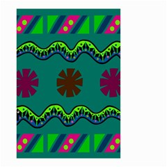 A Colorful Modern Illustration Small Garden Flag (Two Sides)