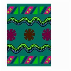 A Colorful Modern Illustration Large Garden Flag (two Sides)