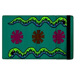 A Colorful Modern Illustration Apple iPad 2 Flip Case