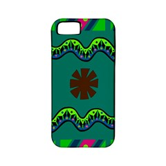 A Colorful Modern Illustration Apple iPhone 5 Classic Hardshell Case (PC+Silicone)
