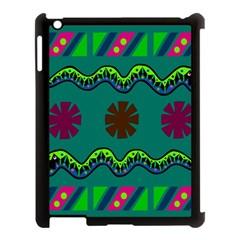 A Colorful Modern Illustration Apple iPad 3/4 Case (Black)