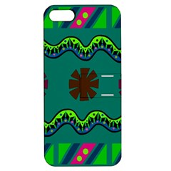 A Colorful Modern Illustration Apple iPhone 5 Hardshell Case with Stand