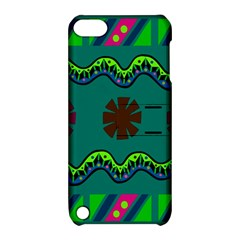A Colorful Modern Illustration Apple iPod Touch 5 Hardshell Case with Stand