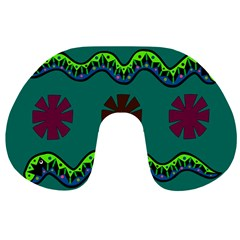 A Colorful Modern Illustration Travel Neck Pillows