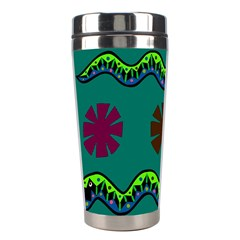 A Colorful Modern Illustration Stainless Steel Travel Tumblers