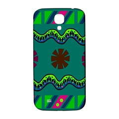 A Colorful Modern Illustration Samsung Galaxy S4 I9500/I9505  Hardshell Back Case