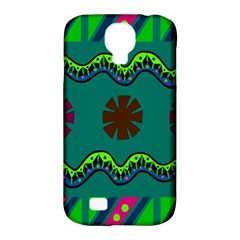 A Colorful Modern Illustration Samsung Galaxy S4 Classic Hardshell Case (PC+Silicone)