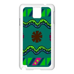 A Colorful Modern Illustration Samsung Galaxy Note 3 N9005 Case (white)