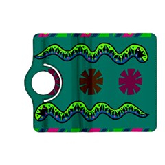 A Colorful Modern Illustration Kindle Fire Hd (2013) Flip 360 Case