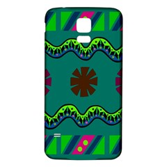 A Colorful Modern Illustration Samsung Galaxy S5 Back Case (white)